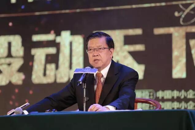原国家外经贸部副部长、现任全球CEO发展大会联合主席龙永图先生