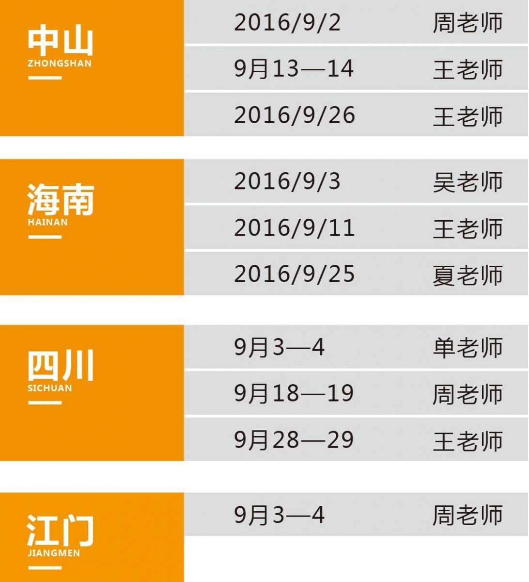 华一世纪9月份《股权激励导入班》课程表(图2)