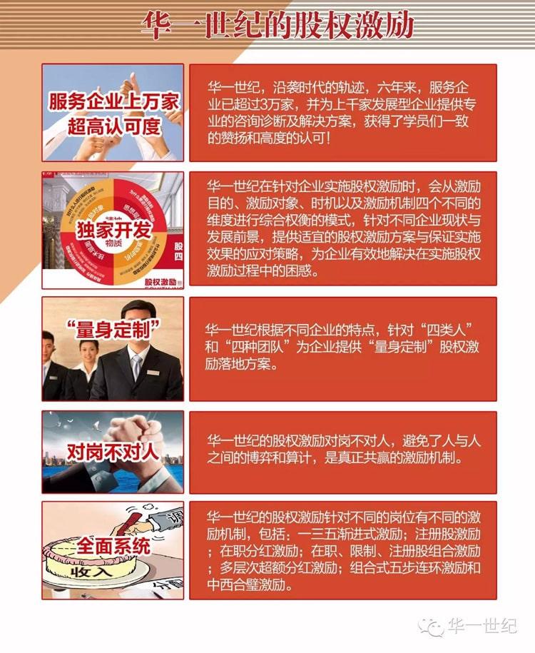华一世纪股权激励课程核心内容(图6)
