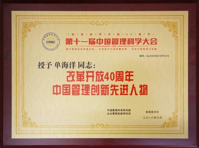 华一世纪荣获中国管理全球化企业案例贡献奖图3
