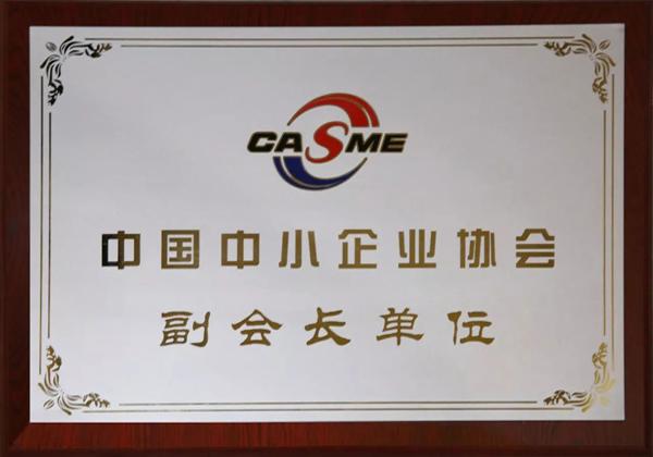 中國中小企業協會副會長單位